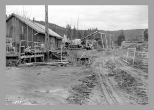 Construction for Alder Dam, 1940s