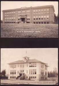 EHS and Eatonville Elementary, 1924
