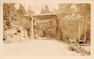 Nisqually visitor entrance, ca. 1920
