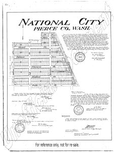 Map of National - 1908