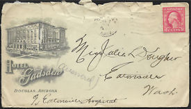 Letter to Eatonville Hospital 1921